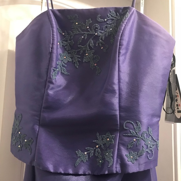 Velvet Fashion Inc Dresses Lavender 2 Piece Prom Dress Poshmark